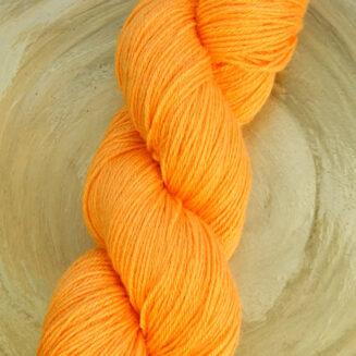 Turin Sockenwolle Gelborange | Seehawer Naturfasern | © Die Maschen zum Glück