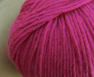 Atelier Zitron   Bio Baumwolle ohne Gentechnik Magenta   für Allergiker geeignet   © Die Maschen zum Glück