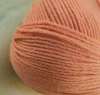 Atelier Zitron | Echt Bio Baumwolle ohne Gentechnik Lachs für Allergiker geeignet | © Die Maschen zum Glück