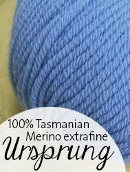 Ursprung, Tasmanische Merion von Atelier Zitron | © Die Maschen zum Glück