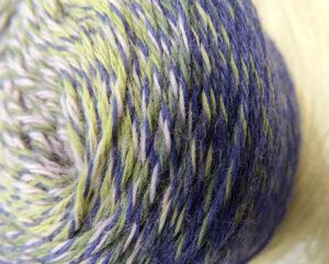 Bobbel Zauberwolle Waldfrau von Schoppel Wolle   100% Schurwolle Merino   © Die Maschen zum Glück
