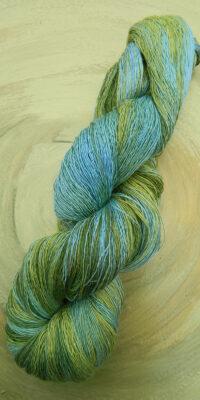 Atelier Zitron Traumseide Frühlingswiese, Lacegarn, 100% Maulbeerhaspelseide | © Die Maschen zum Glück