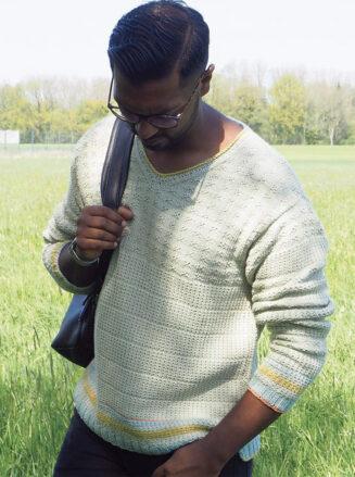 Unisex Pullover Anleitung Echt Bio Baumwolle von Atelier Zitron | © Atelier Zitron