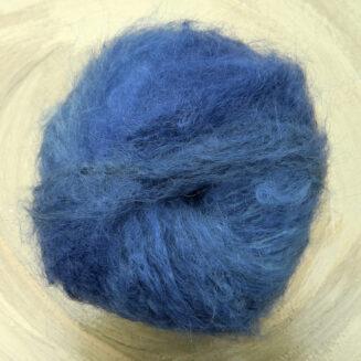 Meisterstück Blaue Stunde Atelier Zitron | KidMohair mit Merino Extrafein | Schnellstrickgarn | © Die Maschen zum Glück