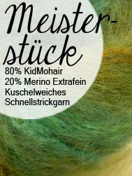 Meisterstück Atelier Zitron | KidMohair mit Merino Extrafein. Kuschelweiches Schenllstrickgarn