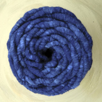 Elbwolle Max Wasserblau regionale Schurwolle mit Baumwollkern | © Die Maschen zum Glück