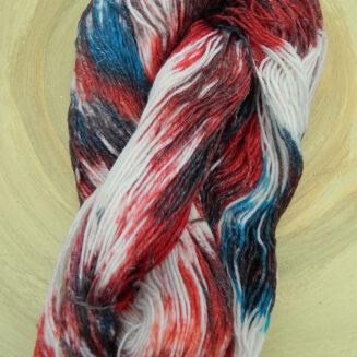 Norwegia Triologie Sockenwolle handgefaerbt | Schurwolle Seide Leinen | Atelier Zitron | © Die Maschen zum Glück