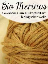 © Die Maschen zum Glück | Bios Merinos Schoppel Wolle zertifizierte Biowolle