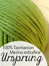 © Die Maschen zum Glück | Ursprung von Atelier Zitron Merino Extrafein Tasmanien