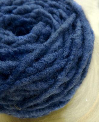 Elbwolle Max 40 Wasserblau Schurwolle mit Baumwollkern Deutschland   © Die Maschen zum Glück