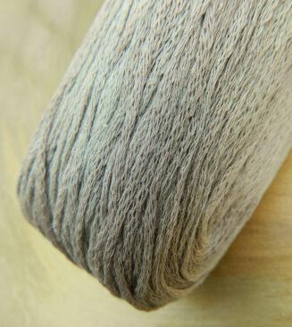 El Linio Sand am Meer Schoppel Wolle | 100% französisches Leinen als feines Baendchengarn | © Die Maschen zum Glück