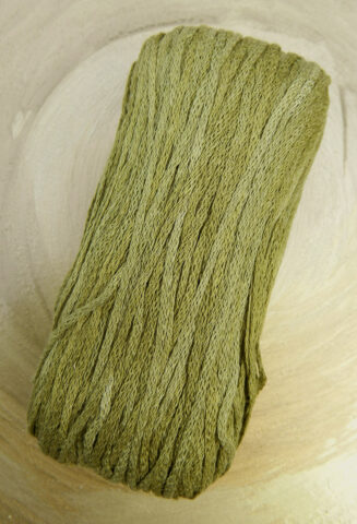 El Linio Schilf Schoppel Wolle   100% französisches Leinen als feines Baendchengarn   © Die Maschen zum Glück