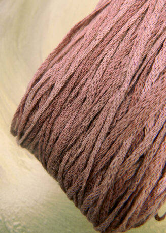 El Linio Rosarium Schoppel Wolle | 100% französisches Leinen als feines Baendchengarn | © Die Maschen zum Glück