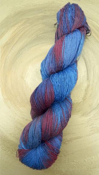 Atelier Zitron Traumseide Herbstwind | Lacegarn, 100% Maulbeerhaspelseide | Lacegarn | © Die Maschen zum Glück