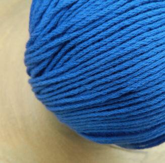 Bio Baumwolle ohne Gentechnik Kornblau   Atelier Zitron   für Allergiker geeignet   © Die Maschen zum Glück
