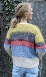 Yeti mit KidMohair Extraklasse | Seehawer + Atelier Zitron | Edelgarn Pullover in strahlenden Farben | © Die Maschen zum Glück