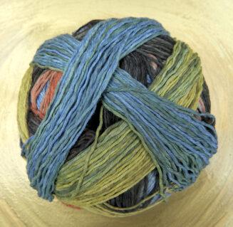 Zauberball-Cotton Downtown | Schoppel Wolle | Bio-Baumwolle | © Die Maschen zum Glück