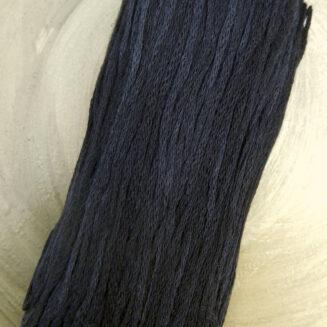 El Linio Schwarzarbeiter Schoppel Wolle | 100% französisches Leinen als feines Baendchengarn | © Die Maschen zum Glück