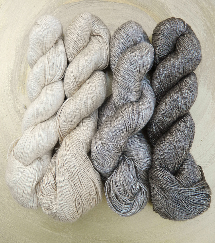 Yeti | Yakhaar mit Maulbeerseide | Seehawer Naturfasern | © Die Maschen zum Glück