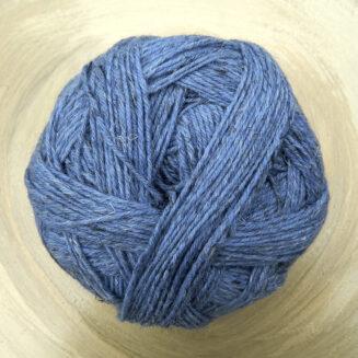 Alb Lino Blau Mélange von Schoppel Wolle | Lambswool mit Leinen | Ganzjahresgarn, Sockeenwolle © Die Maschen zum Glück
