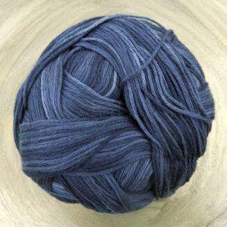 Cotton Ball Armeeblau | Schoppel Wolle | feines baumwollgarn aus Griechenland | Shadow Colorits | © Die Maschen zum Glück