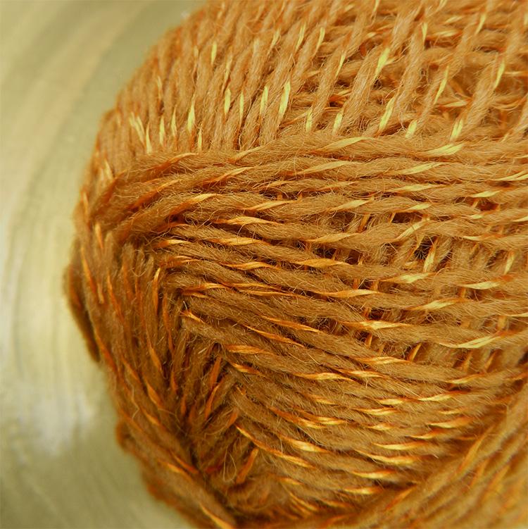 einrum E+2 Myrarraudi | Island Wolle mit Seide aus Thailand | © Die Maschen zum Glück