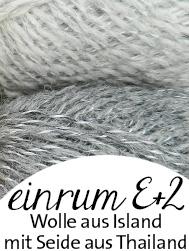 Einrum E+2 | Islandwolle mit Thaiseide | © Die Maschen zum Glück