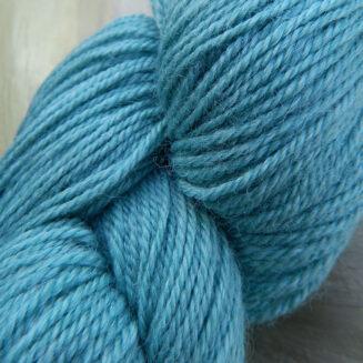 Ramie Sockenwolle Hellblau Seehawer Naturfasern | © Die Maschen zum Glück