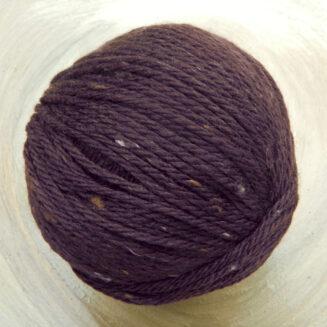 Original Tasmanian Tweed Rotbraun Atelier Zitron | Merino extrafine | © Die Maschen zum Glück