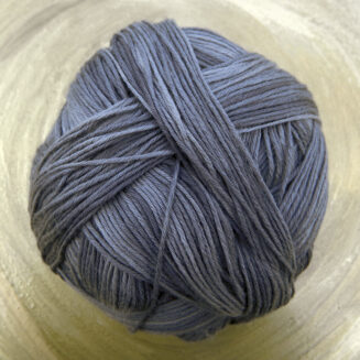 Cotton Ball Basalt | Schoppel Wolle | feines baumwollgarn aus Griechenland | Shadow Colorits | © Die Maschen zum Glück