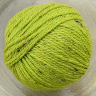 Original Tasmanian Tweed Maigrün in Merino extrafine | Neuentwicklung von Atelier Zitron | © Die Maschen zum Glück