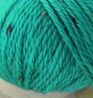 Original Tasmanian Tweed Türkis in Merino extrafine | Neuentwicklung von Atelier Zitron | © Die Maschen zum Glück