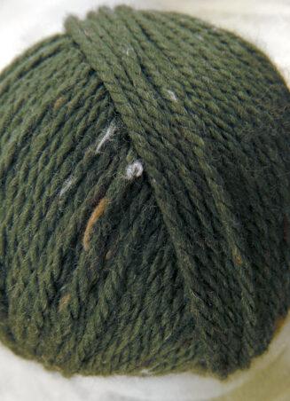 Original Tasmanian Tweed Lodengrün in Merino extrafine | Neuentwicklung von Atelier Zitron | © Die Maschen zum Glück
