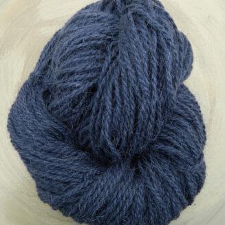 Ziegenhaargarn Graublau | Seehawer Naturfasern | für Teppiche, Makrame, Wohnaccessoires | © Die Maschen zum Glück