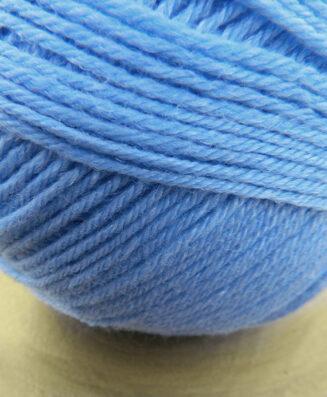 Balance Himmelblau | Atelier Zitron | Merino extrafein mit Tencel | biologisch abbaubar | © Die Maschen zum Glück