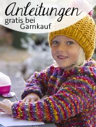Anleitungen gratis bei Garnkauf © Atelier Zitron | Die Maschen zum Glück