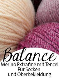 Balance Atelier Zitron | Sockenwolle aus Merino extrafein mit Tencel | © Die Maschen zum Glück