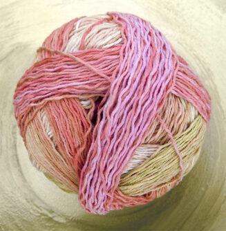 Zauberball Cotton Frühlingsanfang| Schoppel Wolle | Baumwolle aus nachhaltigem Anbau Griechenland | © Die Maschen zum Glück