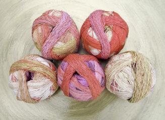 Zauberball Cotton Frühlingsanfang| Schoppel Wolle | Baumwolle aus nachhaltigem Anbau Griechenland | Supreme Green Cotton | © Die Maschen zum Glück