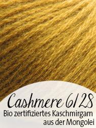bio Cashmere 6/28 Pascuali | zertifizierte Bio Kaschmir aus der Mongolei | © Die Maschen zum Glück