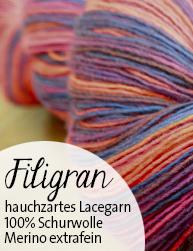 Filigran Atelier Zitron | Lacegarn aus merino extrafein | © Die Maschen zum Glück