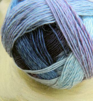 Zauberball 100 Fliederduft Schoppel Wolle | 100% Merinowolle © Die Maschen zum Glück