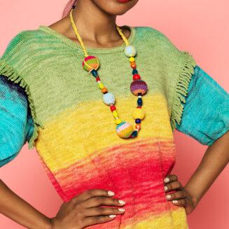 Anleitung Kleid Zauberball Cotton Farbe Echte Abwechslung | © Schoppel Wolle
