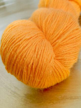 Turin Sockenwolle gelborange Seehawer Naturfasern | © Die Maschen zum Glück