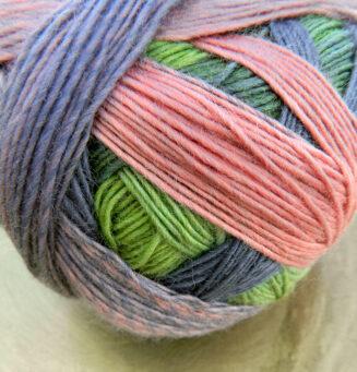 Zauberball 100 Blasser Schimmer Schoppel Wolle   100% Merinowolle © Die Maschen zum Glück