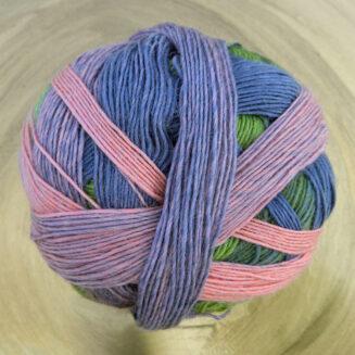 Zauberball 100 Blasser Schimmer Schoppel Wolle | 100% Merinowolle © Die Maschen zum Glück