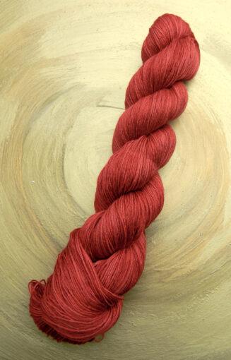 6 Karat Roter Ocker von Schoppel Wolle | © Die Maschen zum Glück