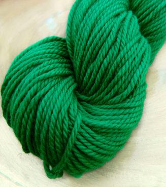 Baumwollgarn Smaragdgrün | Seehawer Naturfasern | © Die Maschen zum Glück