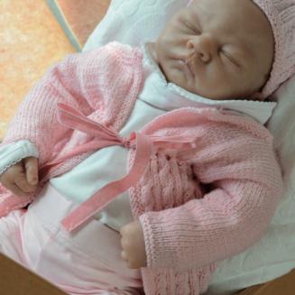 Anleitung Babyjacke und Mütze Charlotte | Life Style Zitron | Atelier Zitron